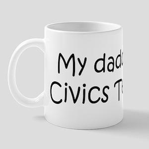 Daddy: Civics Teacher Mug