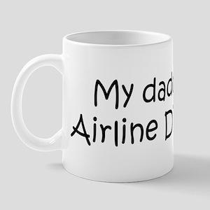 Daddy: Airline Dispatcher Mug