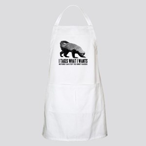 Honey Badger Speaks Apron