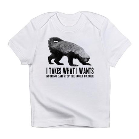 Honey Badger Speaks Infant T-Shirt