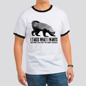 Honey Badger Speaks Ringer T