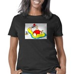 Sunbathing Santa Women's Classic T-Shirt