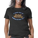 Global Warming 2 dk Women's Classic T-Shirt