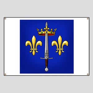 Joan of Arc heraldry Banner