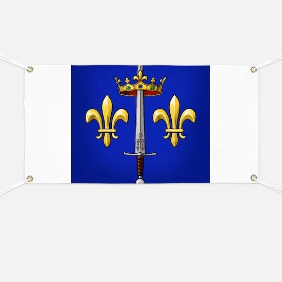 Joan of Arc heraldry Banner