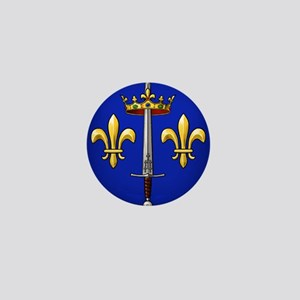 Joan of Arc heraldry Mini Button