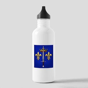 Joan of Arc heraldry Stainless Water Bottle 1.0L