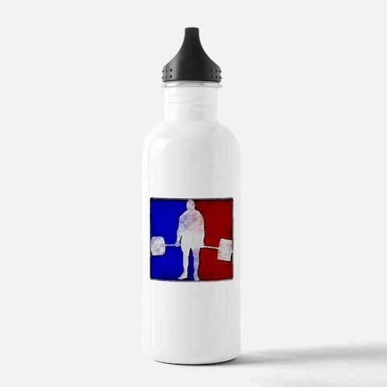 Major League Deadlifting Water Bottle