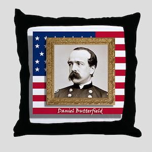 Daniel Butterfield Throw Pillow