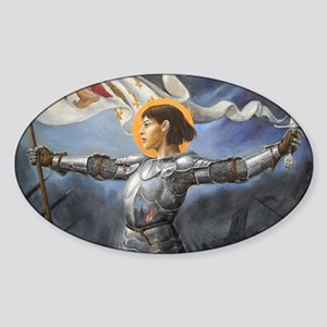 Maid of Orleans Sticker (Oval)