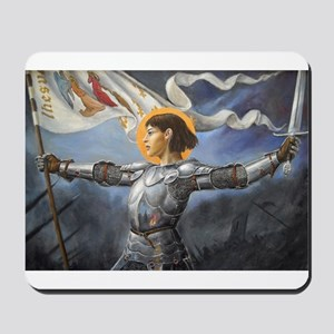 Maid of Orleans Mousepad