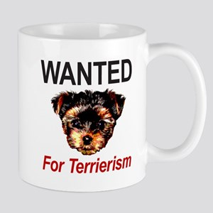 WANTED For Terrierism Mug