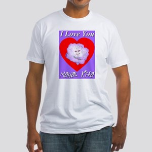 Passionate Rose Heart of the Fitted T-Shirt