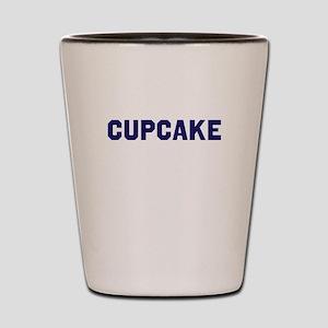 Cupcake U Shot Glass