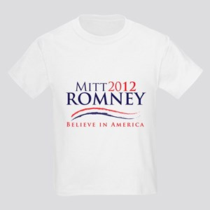 Mitt Romney 2012 Kids Light T-Shirt