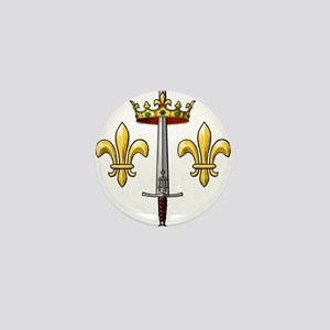 Joan of Arc heraldry 2 Mini Button