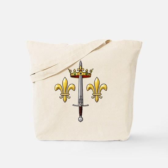 Joan of Arc heraldry 2 Tote Bag