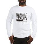 Jesus Temptation Satan Long Sleeve T-Shirt
