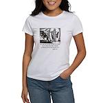 Jesus Temptation Satan Women's T-Shirt