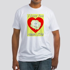 Yellow Rose Heart of the Phil Fitted T-Shirt
