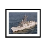 USS JARRETT Framed Panel Print