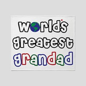 World's Greatest Grandad! Throw Blanket