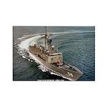 USS KAUFFMAN Rectangle Magnet