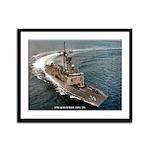USS KAUFFMAN Framed Panel Print