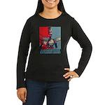 Robo Hope Women's Long Sleeve Dark T-Shirt