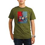 Robo Hope Organic Men's T-Shirt (dark)