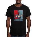 Robo Hope Men's Fitted T-Shirt (dark)