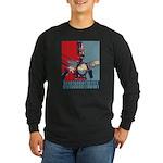 Robo Hope Long Sleeve Dark T-Shirt