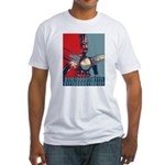 Robo Hope Fitted T-Shirt