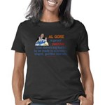 AlGore conman trsp 2 Women's Classic T-Shirt