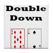 Double Down Tile Coaster