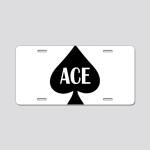 Ace Kicker Aluminum License Plate