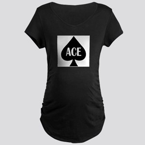 Ace Kicker Maternity Dark T-Shirt