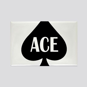 Ace Kicker Rectangle Magnet