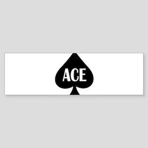Ace Kicker Sticker (Bumper)