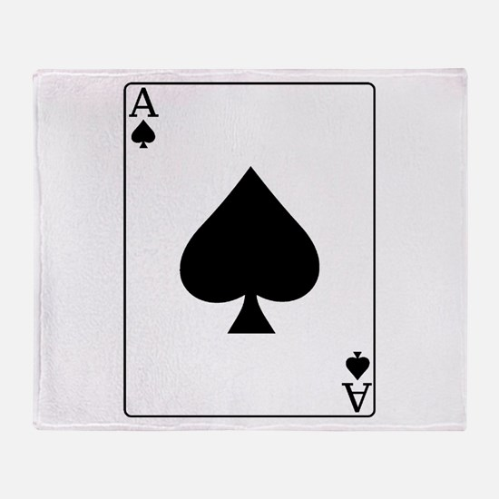 Ace Throw Blanket