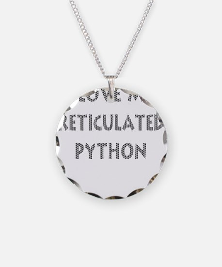 Luv My Reticulated Python (Wh Necklace