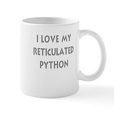 Luv My Reticulated Python (Wh Mug