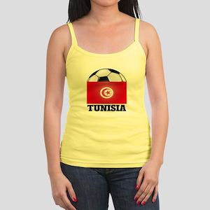 Tunisia Soccer Jr. Spaghetti Tank