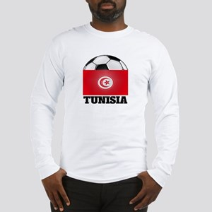 Tunisia Soccer Long Sleeve T-Shirt