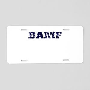 BAMF 2 Aluminum License Plate