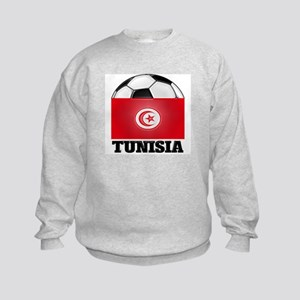 Tunisia Soccer Kids Sweatshirt