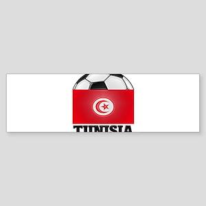 Tunisia Soccer Bumper Sticker