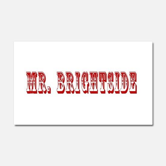 Mr. Brightside (Red) Car Magnet 20 x 12