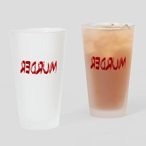 REDRUM Drinking Glass