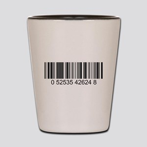 Barcode (large) Shot Glass
